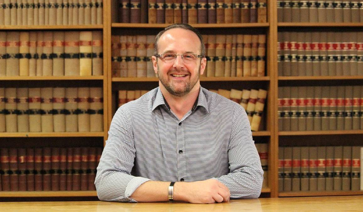 Charles Sturt University Centre for Law and Justice director Mark Nolan. Picture: ANU College of Law