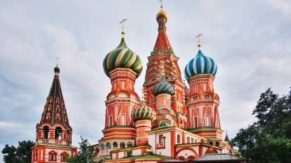 St. Basil's Cathedral, Moscow. Picture: Diana Lange/Shuttersotck