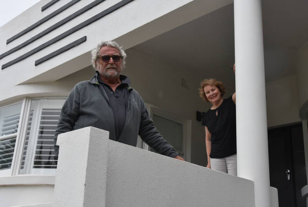 DECO: Michael and Jill Coates are happy to receive tourism funding to upgrade their business, Deco Beach Luxury Apartments.