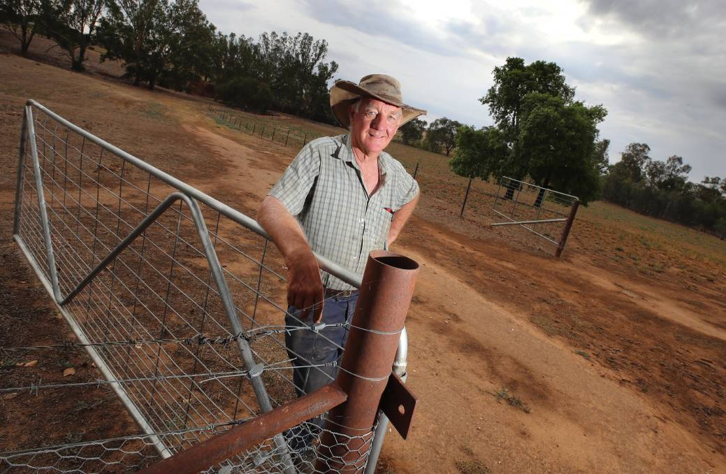 DRUG WOES: NSW Farmers Wagga district branch chairman Alan Brown says the use of ice is a serious problem in some areas of the agriculture industry. Picture: Les Smith