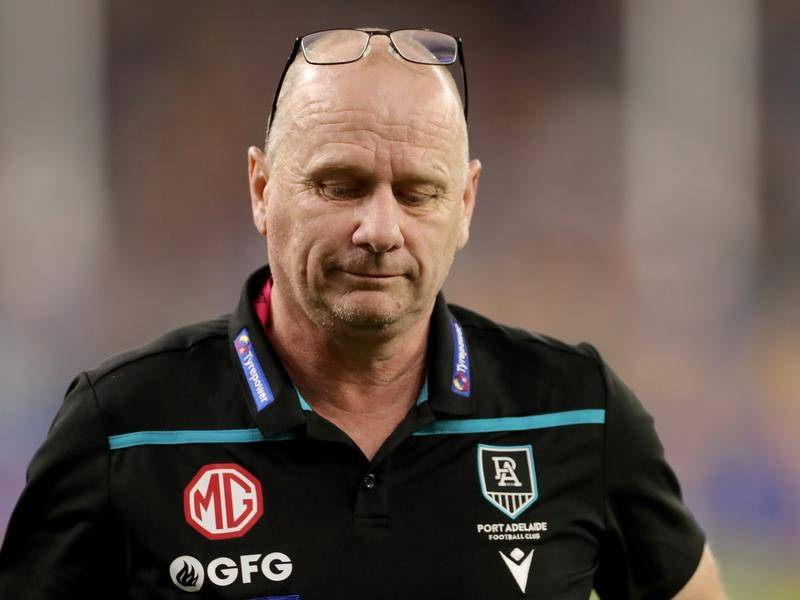 Ken Hinkley insists Port Adelaide's heavyweight clash with Richmond won't define a long AFL season.