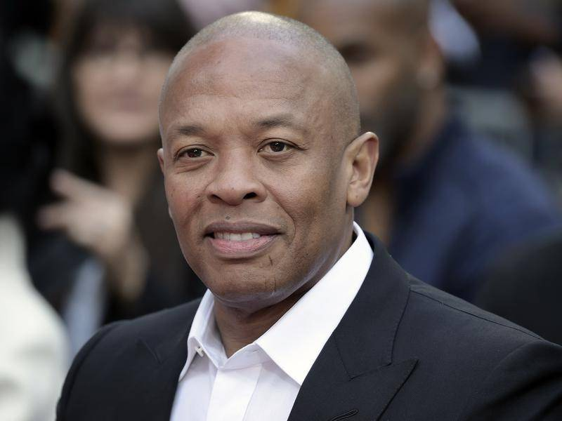 Music mogul Dr Dre has been receiving treatment at the Cedars-Sinai Medical Center in Los Angeles.