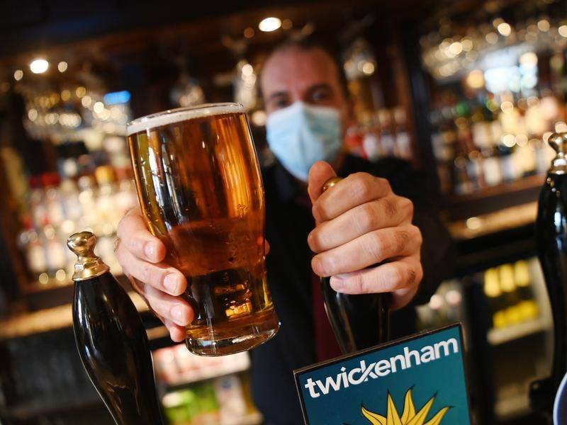 Pubs in England are preparing to open their gardens after months of COVID-19 lockdown.